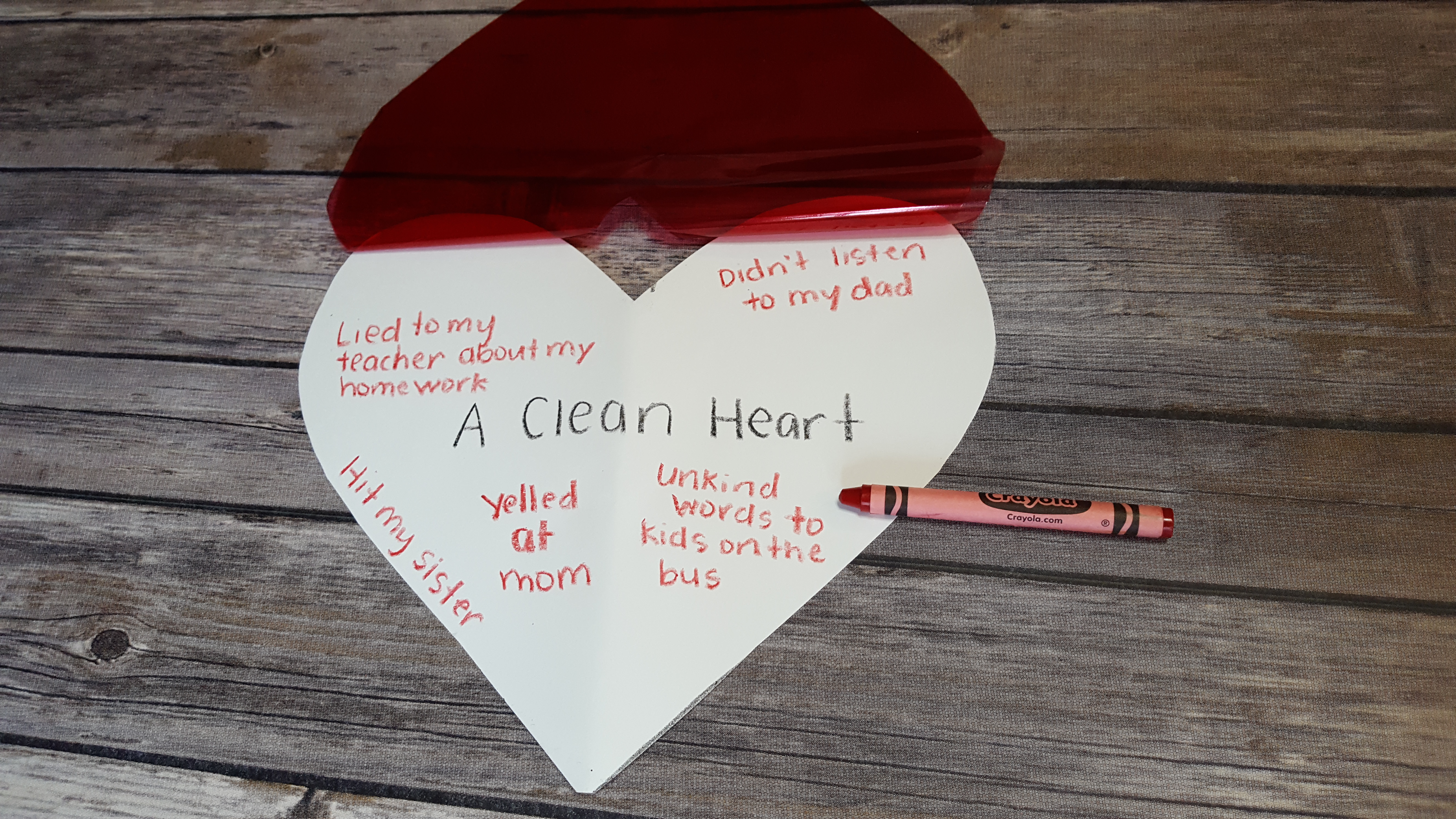 the joy of a clean heart   a craft about penance and