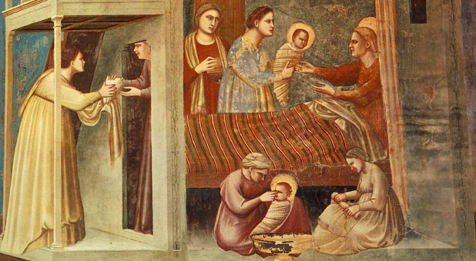 Image result for Free pictures of the Birth of Mary